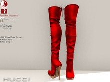::HH:: Hucci Enegu Boot - Red