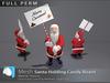 "[Prim 3D] - Santa Holding Candy Board ""FULL PERM"""