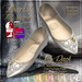 {AS} Flourish Mesh Flat Slippers: 10 Light colors; Fat Pack @ 30% Discount; Omega sock applier; Unrigged; Resize Script