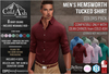 {COLD-ASH} Mens MESH HEMSWORTH Tucked Shirt (COLORS PACK)