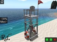 *Beach Guard Tower_T-G-V