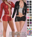 adorsy - Kristy Leather Jacket with Shirt Fatpack - Maitreya