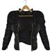 adorsy - Kristy Leather Jacket with Shirt Black - Maitreya