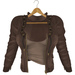 adorsy - Kristy Leather Jacket with Shirt Brown - Maitreya