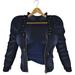 adorsy - Kristy Leather Jacket with Shirt Dark Blue - Maitreya