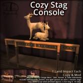 [DDD] Cozy Stag Console - Huge Texture Change Menu