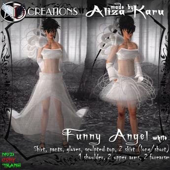 [BOX]  Funny angel white 350