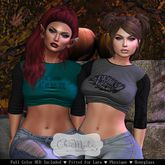 ChicModa / Bonnie Halloween Shirt / ALL PACK / Maitreya Lara / Slink Physique / Slink Hourglass