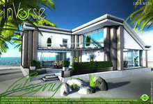 inVerse® MESH - COLOGNY- furnished contemporary modern house