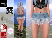 .: MB :. Nov. GIFT short bleu skirt Maitreya Belleza Slink TMP --- fixed !
