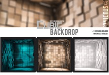 [STUD INC.] - Cubic Backdrop (ADD ME TO UNPACK)