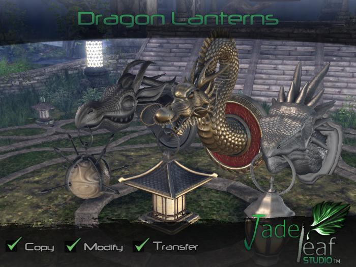 Dragon Lanterns - Full Permissions