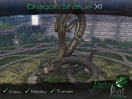Jade Leaf Studio - Dragon Statue XI (11)