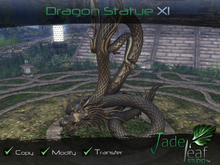Jade Leaf Studio - Dragon Statue XI (11)