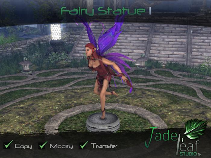 Fairy Statue - Full Permissions