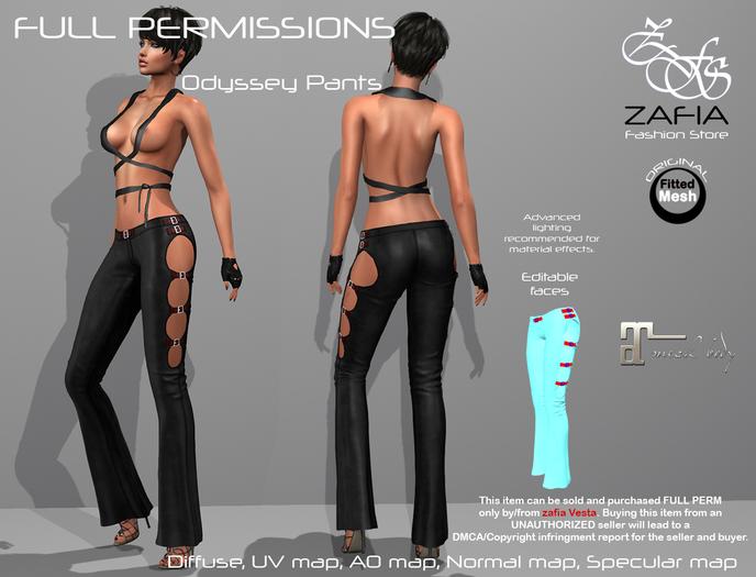 Full Perm-ZAFIA Odyssey Pants-Maitreya