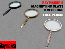 Magnifying Glass, Spy Glass - 3 versions
