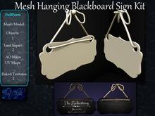 ~tc~ Mesh Hanging Blackboard Sign FullPerm Kit