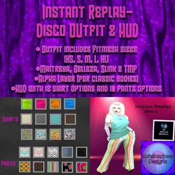 Instant Replay-Disco Outfit & HUD-DEMO
