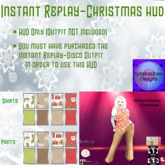 Instant Replay-Christmas HUD (Female)