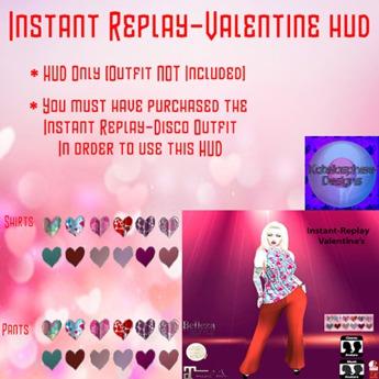 Instant Replay-Valentine HUD (Female)