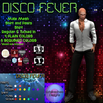 Disco Fever (Male Outfit) DEMO