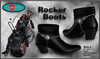 MayCreations rocker boots / biker boots black for men