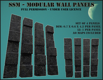 SSM - Modular Wall Panels