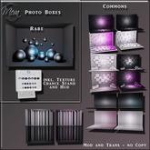 Meva Photo Box Cylinder 2 Black Pink Box