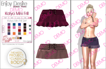 Katya Mini Frill Skirt - TMP - DEMO