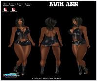 RUTH ANN FRINGE TOP AND SHORTS BOX