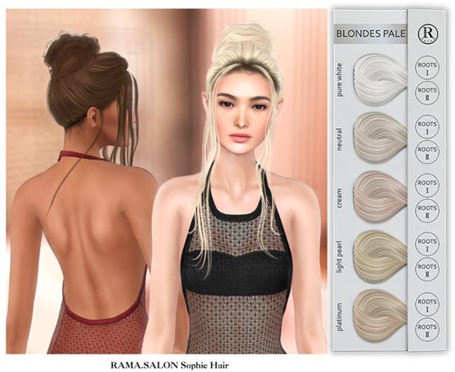 RAMA.SALON - Sophie Hair 'BLONDES PALE'