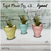 Kyoot Home - Pastel Flower Pots II