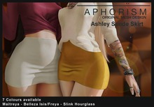 !APHORISM! Ashley Suede Skirt - Fatpack