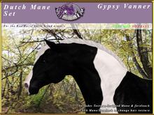 *E* RealHorse Dutch Mane Set [BOXED] Gypsy Vanner