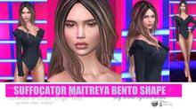 GIFT  Suffocator Maitreya Bento Shape for Catya Catwa Head  Eyebrow Shape included**