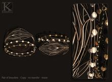 (Kunglers) Nicky bracelets - opal