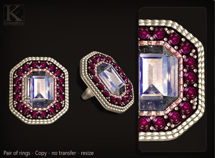 (Kunglers) Celine ring - quartz