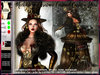 irrISIStible : MECHANICAL CHRISTMAS CAROUSEL MESH OUTFIT + HAIR