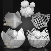 !Lyrical B!zarre Templates! - Pumpkin Bowls MESH DAE Version