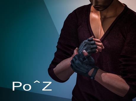 Po^Z Bento - Gloves pose 1 ( male )