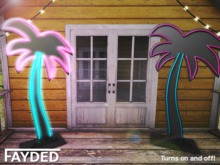 FAYDED - 80s Neon Palm Tree