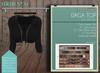 """Addams """"Daga"""" Mesh Shirt for Maitreya, Belleza, Slink #30"""
