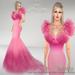 Belinda poster   deep pink