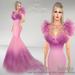 Belinda poster   lilac