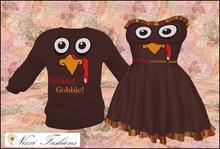 Nixxi Fashions - Silly Turkey Sweater for Men