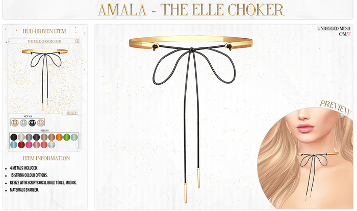 Amala - The Elle Choker