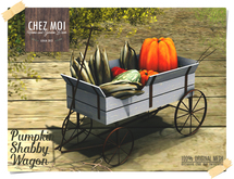Pumpkin Shabby Wagon ♥ CHEZ MOI