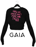 GAIA - Nikita sweatshirt TRICK ME