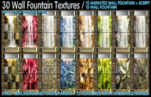 #30 WALL FOUNTAIN TEXTURES ( 15 ANIMATED TEXTURES + SCRIPT ))